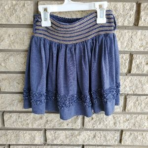 Candie's Small denim colored skirt
